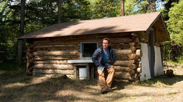 Bruce Parry darf tatsächlich die Familienhütte des Häuptlings Jim Boucher bes...