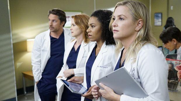 Grey's Anatomy - Eine neue Beraterin sorgt für Unruhe im Krankenhaus: (v.l.n....