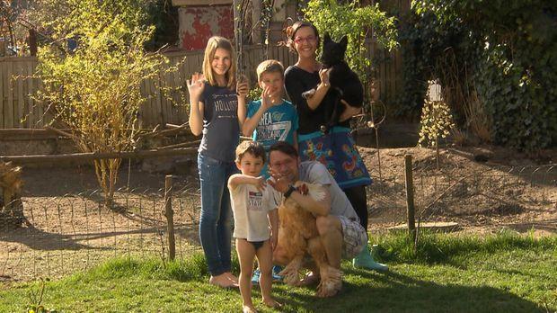 Familie Leonardelli aus Weilburg an der Lahn ist auf der Suche nach tierische...
