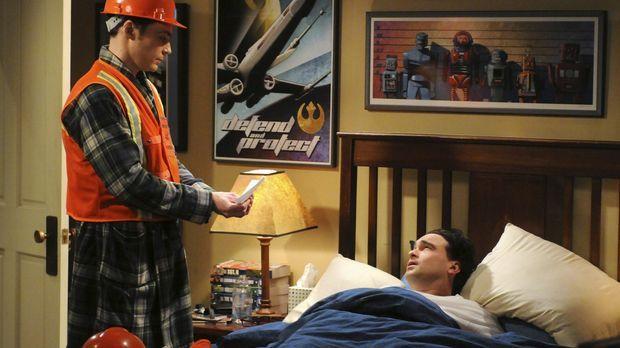 Sheldons (Jim Parsons, l.) vierteljährliche Notfallübung reißt Leonard (Johnn...