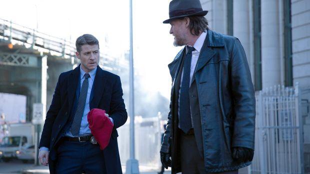 Eine Bande von Bankräubern hält Gotham in Atem. Das Markenzeichen der Krimine...