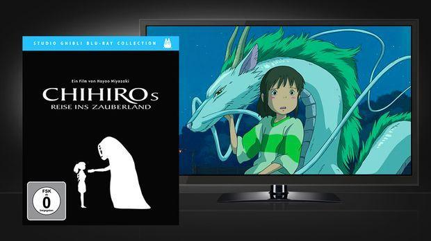 Chihiros Reise ins Zauberland - Blu-ray Cover und Szene © Universum Film Home...