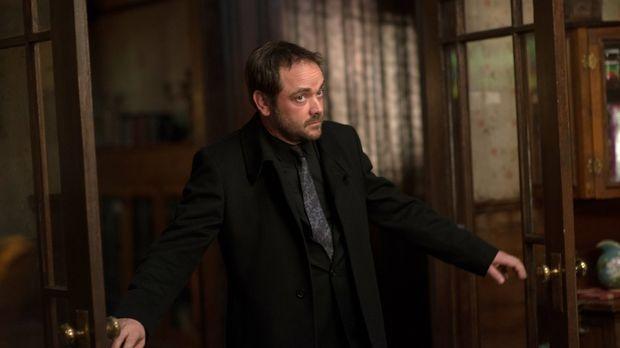Crowley (Mark Sheppard) will seinen Platz als König der Hölle endgültig unbes...