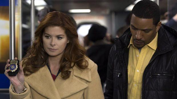 Ein neuer Mordfall wartet auf Laura (Debra Messing, l.) und Billy (Laz Alonso...