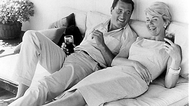 Doris Day und Rock Hudson
