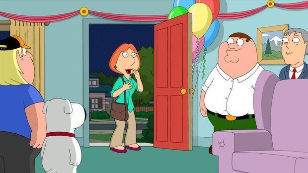 Lois' (M.) 43. Geburtstag steht an. Da sie Probleme mit dem Älterwerden hat,...