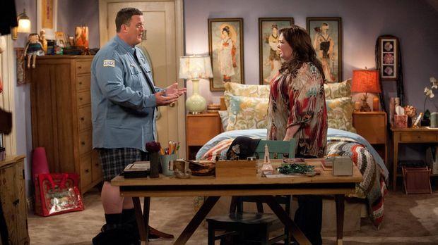 Beschließen, ein Baby zu bekommen: Mike (Billy Gardell, l.) und Molly (Meliss...
