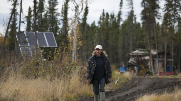 Der Herbst leitet für die Bewohner Alaskas die Vorbereitungsphase auf den lan...