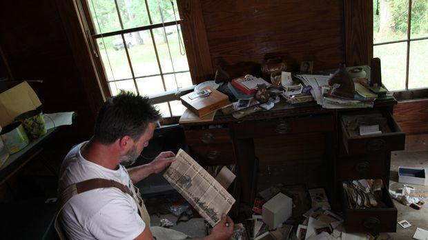 Als wären sie erst vor Kurzem gegangen: Jay findet in einem alten Haus von Si...