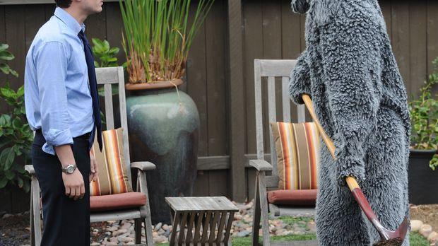 Immer wieder bringt Wilfred (Jason Gann, r.) den ehemaligen Anwalt Ryan Newma...