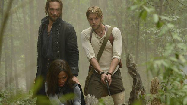 Als ein Kind aus Sleepy Hollow verschwindet, machen sich Ichabod (Tom Mison,...