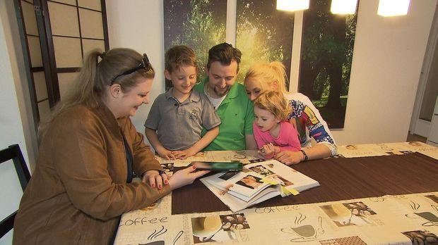 Kann die Hamburger Katzenexpertin Constance Böhle (l.) Familie Tucic behilfli...