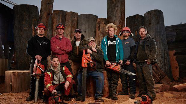 Die Männer von Pioneer Log Homes können nicht nur Multimillionen-Dollar-Holzh...