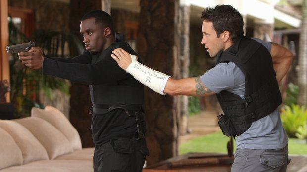 Als bei einem Angriff die Frau von Undecover-Cop Reggie Cole (Sean Combs, l.)...