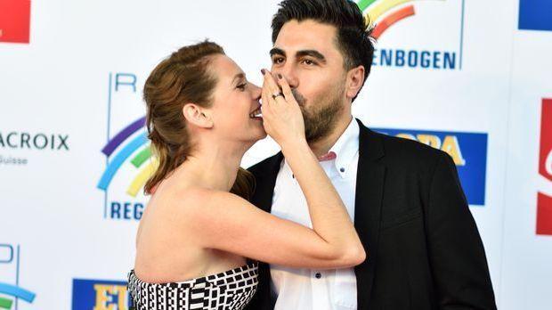 Nur selten zeigt sich Felicitas Woll in der Öffentlichkeit mit ihrer neuen Li...