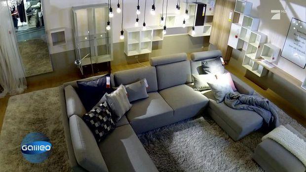 galileo video wohntrends in einem der gr ten m belh user deutschlands prosieben. Black Bedroom Furniture Sets. Home Design Ideas