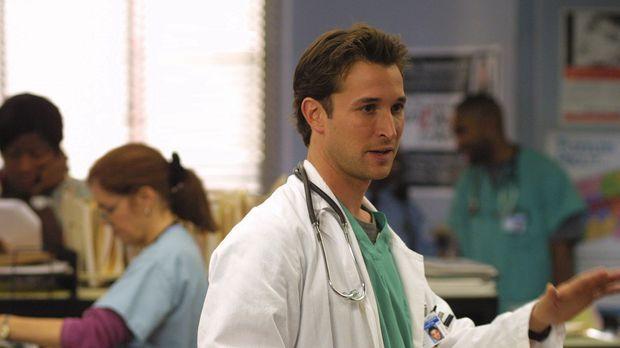 Oberarzt Carter (Noah Wyle) bereut seine Indiskretion gegenüber Abby und ihre...