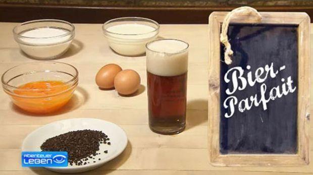 Ein leichtes Dessert mit Altbier