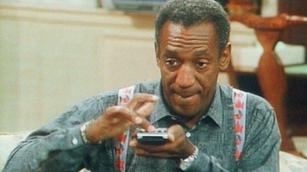 Die Fernbedienung ist für Cliff (Bill Cosby) das Schönste am Fernseher ... ©...