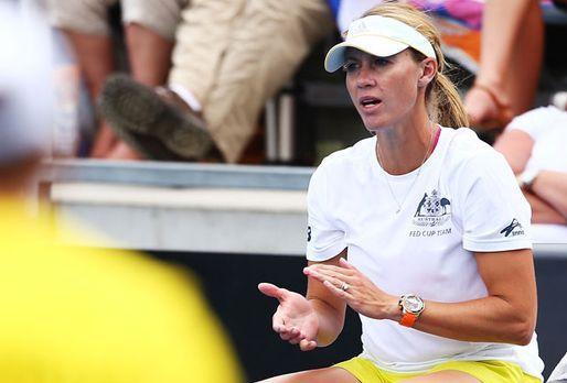 Teamchefin Alicia Molik - Bildquelle: 2014 Getty Images