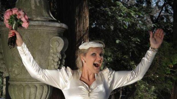 Wird Holly ihre Konkurrentinnen in den Schatten stellen? © 2009 Discovery Com...