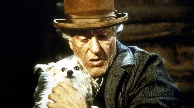 Wally (Dick Van Dyke) mit seinem Hündchen Long John Silver. © Worldvision Ent...