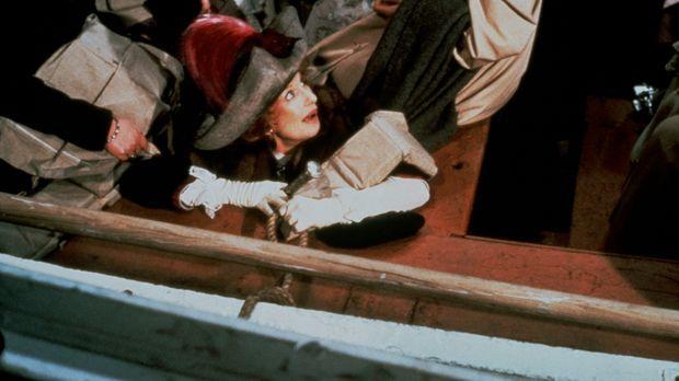 Die extravagante Molly Brown (Cloris Leachman, M.) hat gerade noch einen Plat...