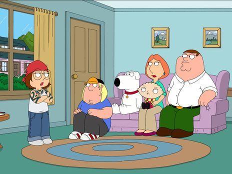 Family Guy - Nachdem sie für drei Monate ins Gefängnis saß, kehrt Meg als tou...