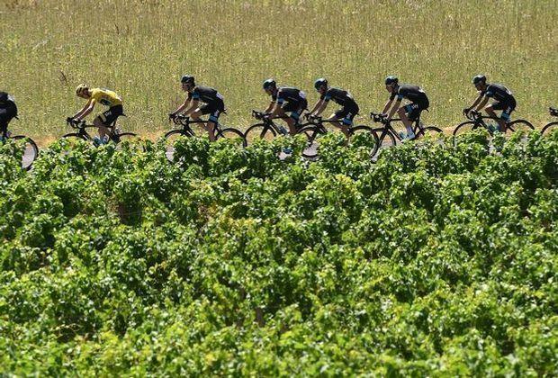 Streit um chilenischen Wein bei der Tour de France