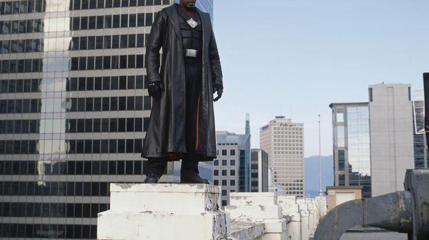 Nimmt den Kampf gegen den legendären Grafen Dracula auf: Blade (Wesley Snipes...