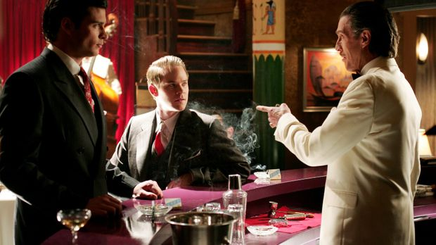 Jimmys (Aaron Ashmore, M.) Traum hat es in sich. Im Smallville der 1940er bes...