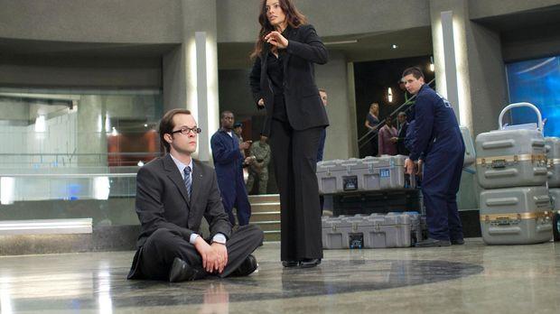 Mit einem Sitzstreik will Fargo (Neil Grayston, l.) die Räumung von Eureka ve...
