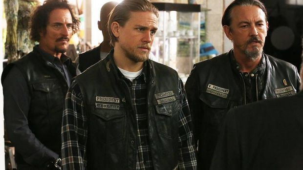 Charlie Hunnam in der Serie Sons of Anarchy