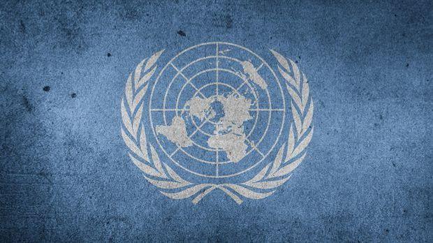 Emblem der Vereinten Nationen (UNO)