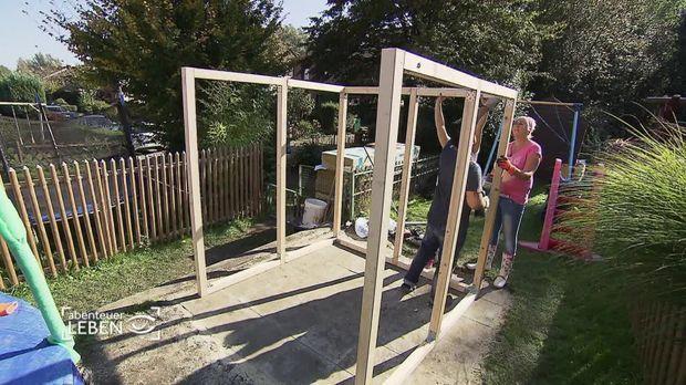 abenteuer leben am sonntag video garten sauna selber bauen kabeleins. Black Bedroom Furniture Sets. Home Design Ideas
