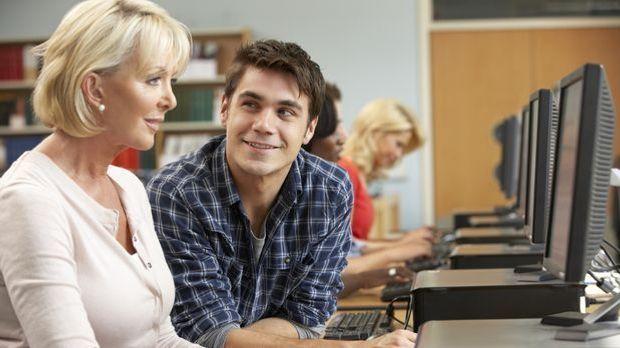 Flirten mit jüngeren