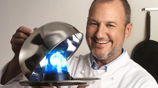 Frank Rosin in seiner Sendung Rosins Restaurants