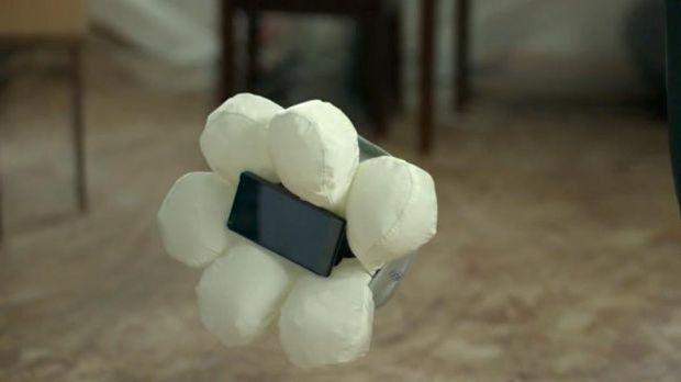 Wissensticker - Handy Airbag