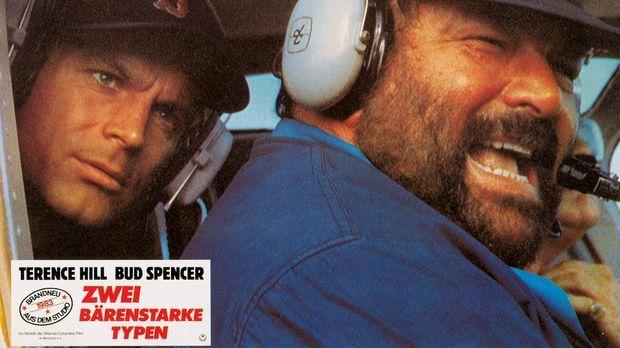 Zwei bärenstarke Typen: Roscoe (Terence Hill, l.) und Doug (Bud Spencer, r.)...