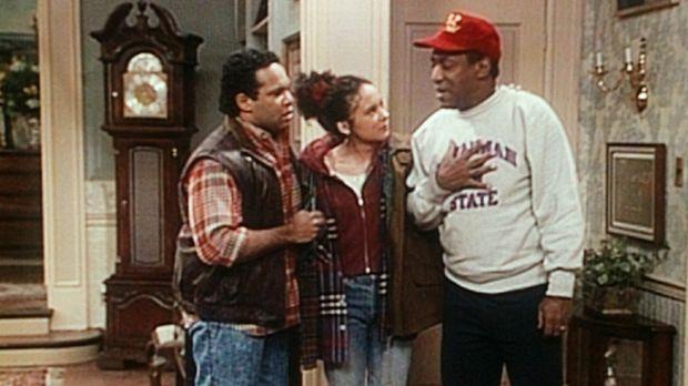 Cliff (Bill Cosby, r.) ist alles andere als traurig darüber, dass Sondra (Sab...