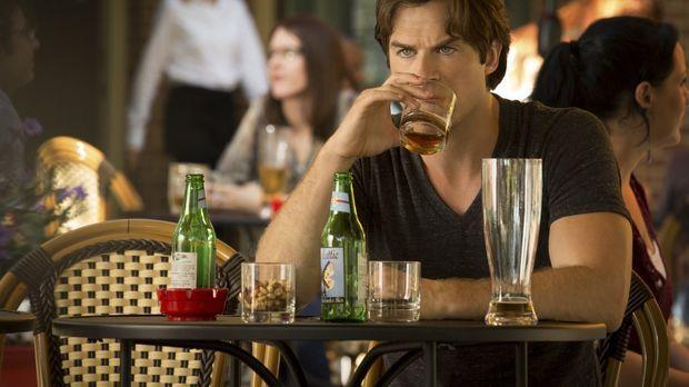 Während Damon (Ian Somerhalder) sich mit Bonnie und Alaric in Europa herumtre...