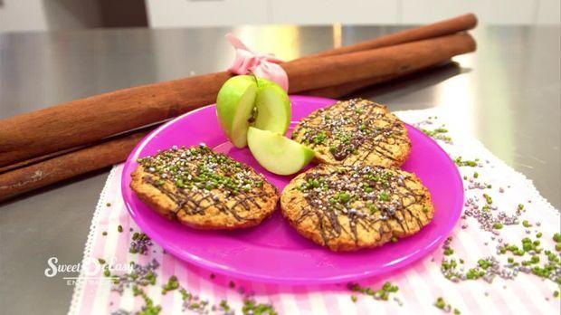Riesen-Apfel-Cookies