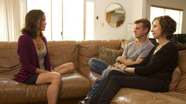 Kamala (l.) möchte Jesse (M.) und Jen (r.) dabei helfen, dass beide in ihrer...
