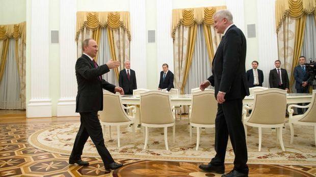 Seehofer Putin Treffen