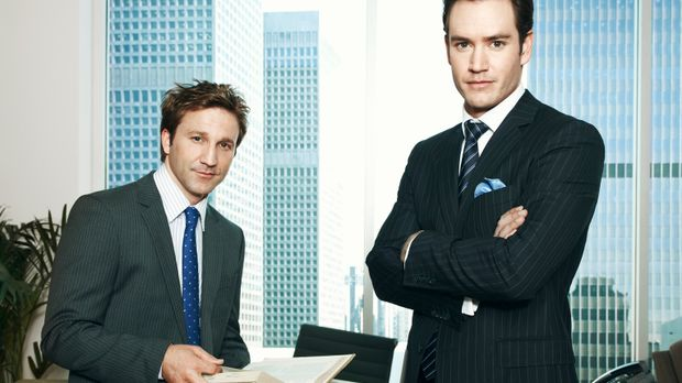 (1. Staffel) - Peter Bash (Mark-Paul Gosselaar, r.) und Jared Franklin (Breck...
