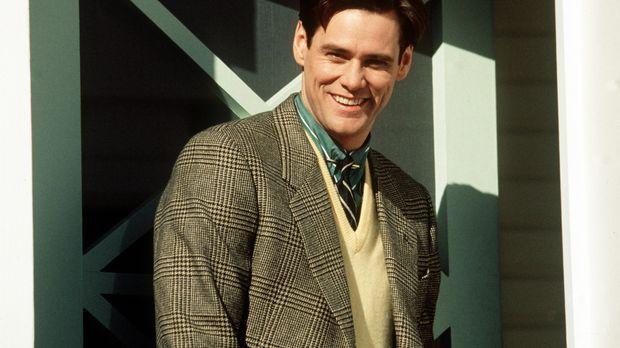Truman (Jim Carrey) lebt als Versicherungsangestellter in dem kleinen, idylli...