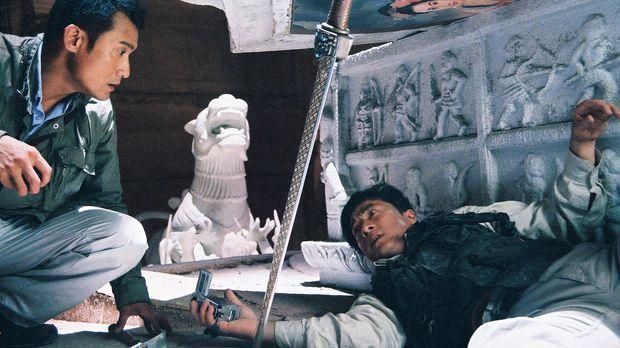 Der Wissenschaftler William (Tony Leung Ka Fai, l.) und der Archäologe Jack (...