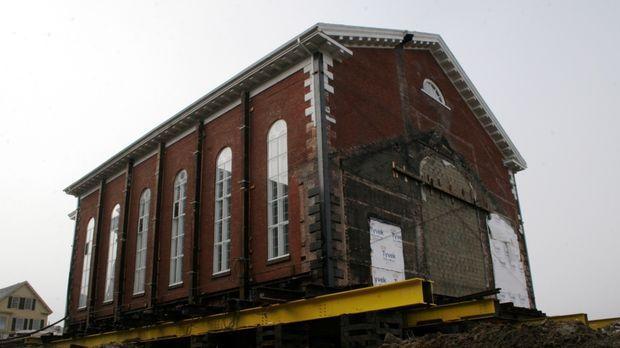 In Salem, Massachusetts, soll der Justizpalast ausgebaut werden. Das Problem:...