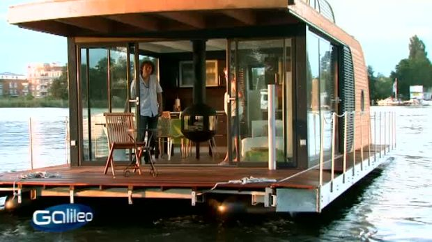 galileo video luxus hausboot prosieben. Black Bedroom Furniture Sets. Home Design Ideas