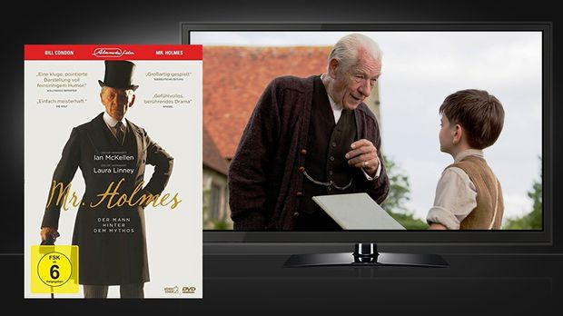 Mr. Holmes - DVD und Szenenbild © Alamode Film